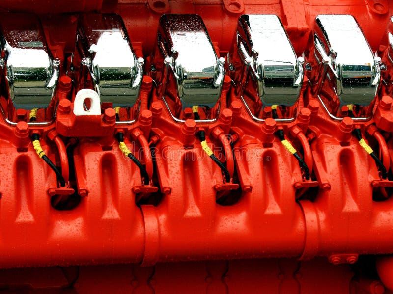 Motor des Leistunggenerators lizenzfreie stockbilder