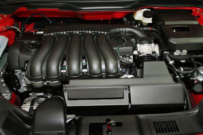 Motor des modernen Autos lizenzfreie stockfotografie