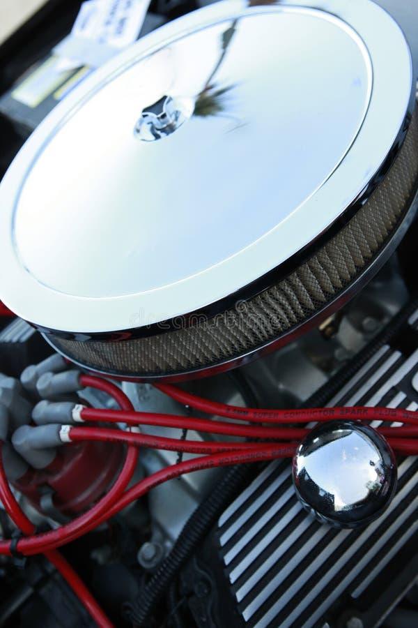 Motor des Muskelautos stockbilder