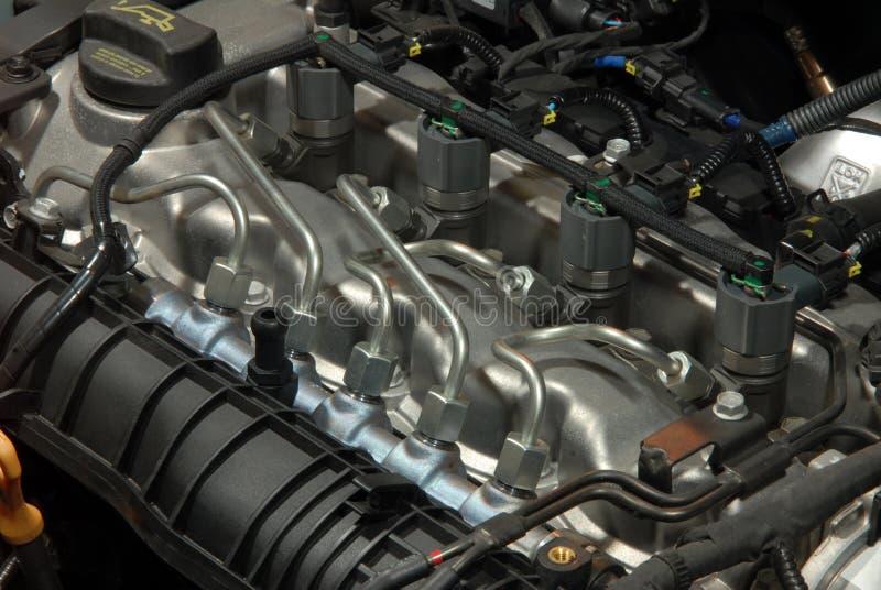 Motor diesel foto de stock royalty free