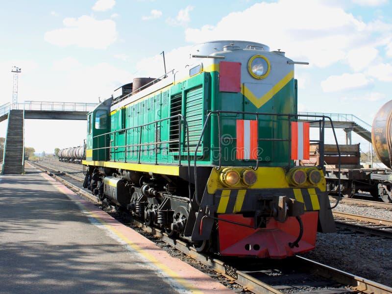 Motor Diesel - La Locomotora Fotos de archivo libres de regalías