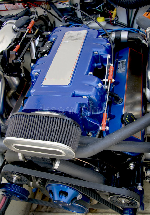 Motor do barco da velocidade fotos de stock