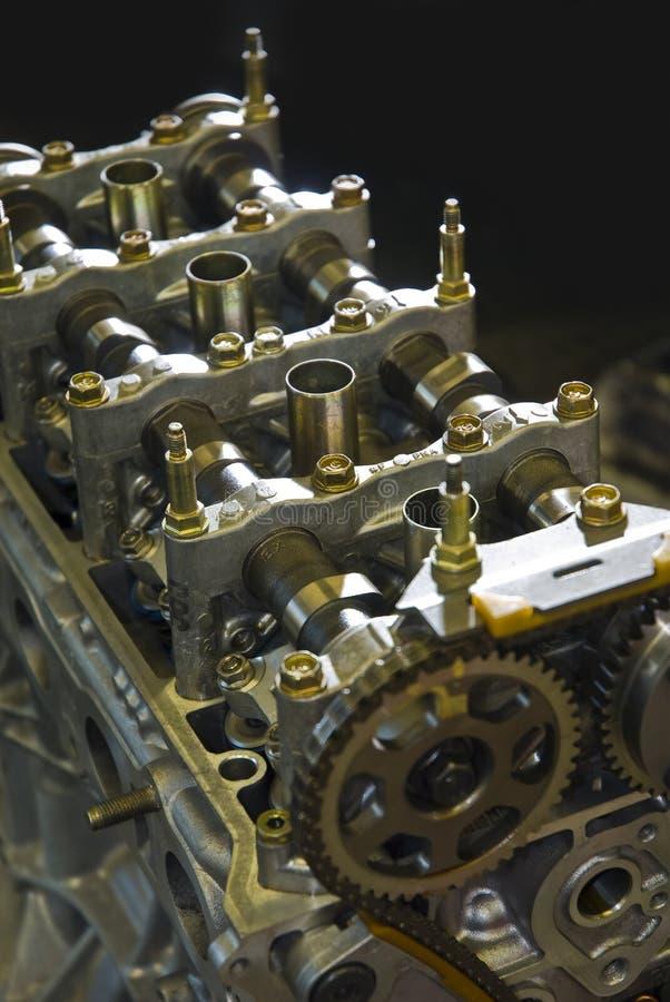 Motor do carro de corridas fotografia de stock