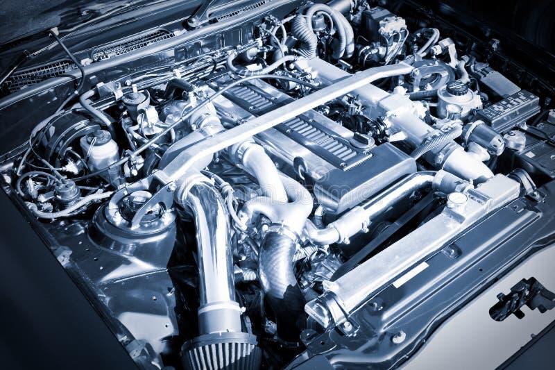 Motor do desempenho foto de stock
