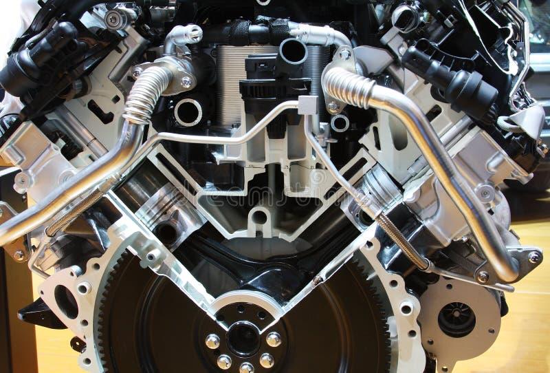 Motor do híbrido da tecnologia imagens de stock royalty free