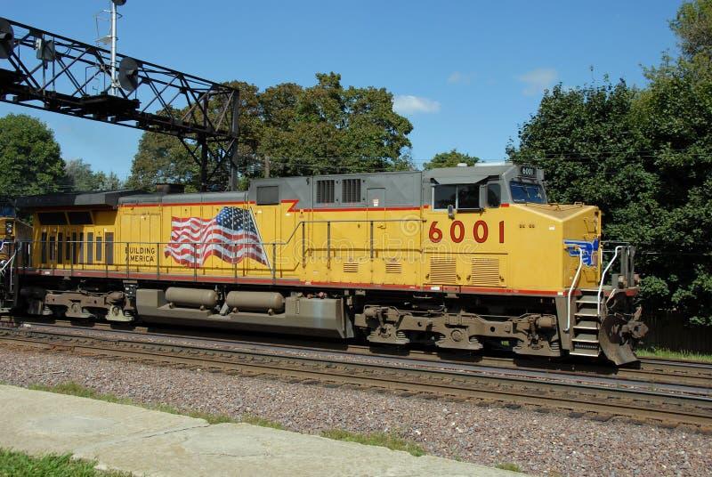 Motor do trem fotografia de stock