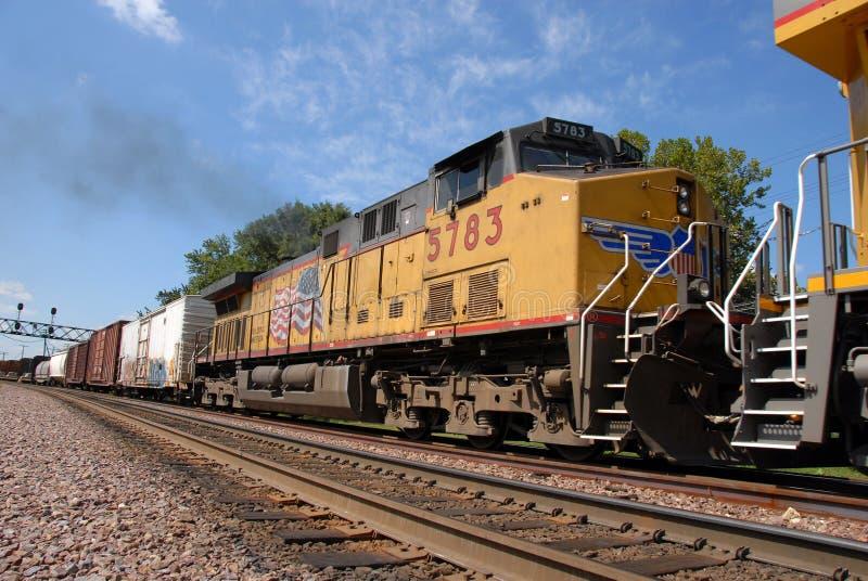 Motor do trem imagens de stock royalty free