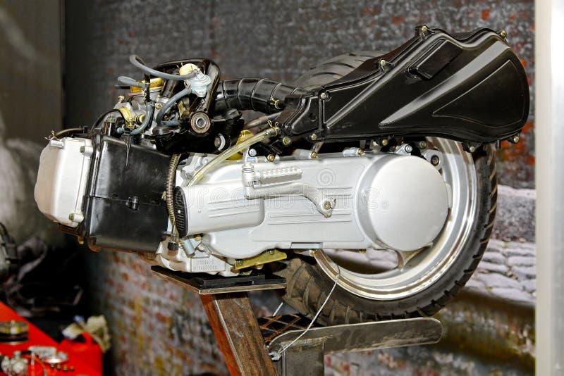 Motor do 'trotinette' foto de stock