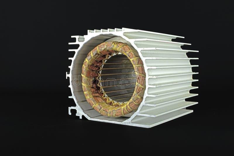 Motor eléctrico del estator imágenes de archivo libres de regalías