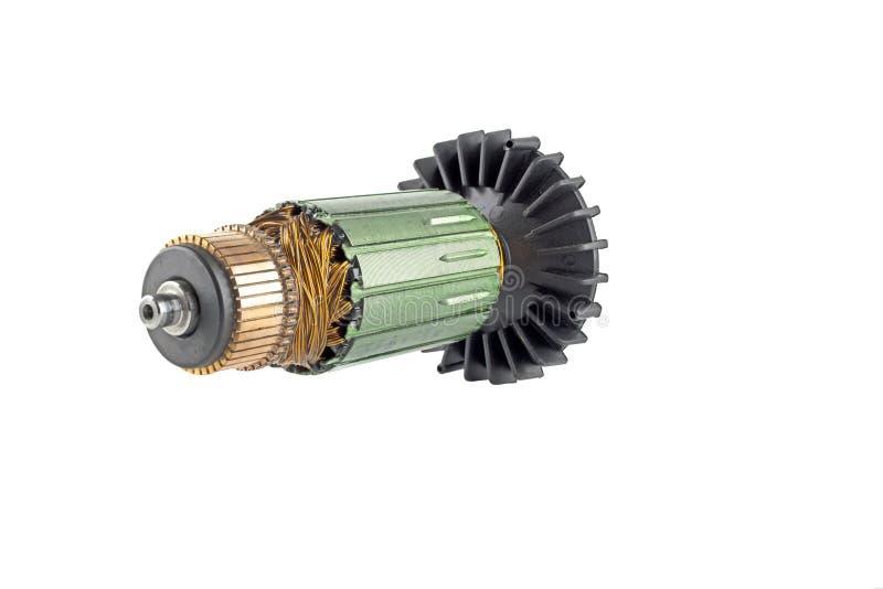 Motor eléctrico del rotor fotografía de archivo