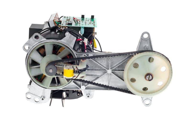 Motor elétrico imagem de stock