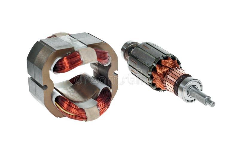 Motor elétrico fotografia de stock
