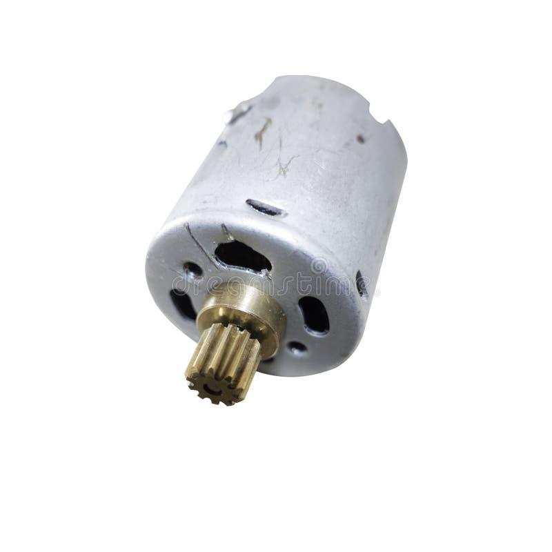 Motor elétrico pequeno imagem de stock