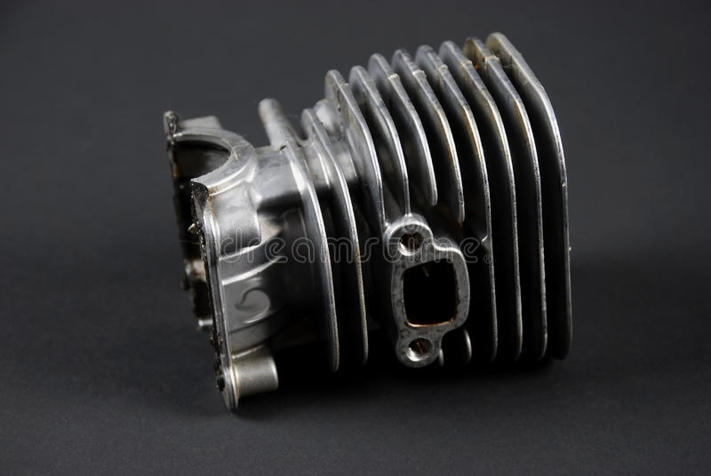 Motor en carburator royalty-vrije stock foto's