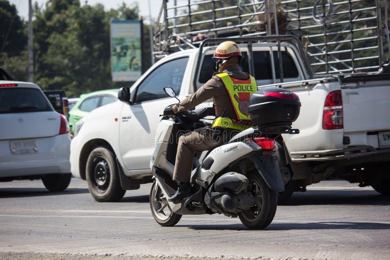 Motor en Politieagent royalty-vrije stock afbeelding