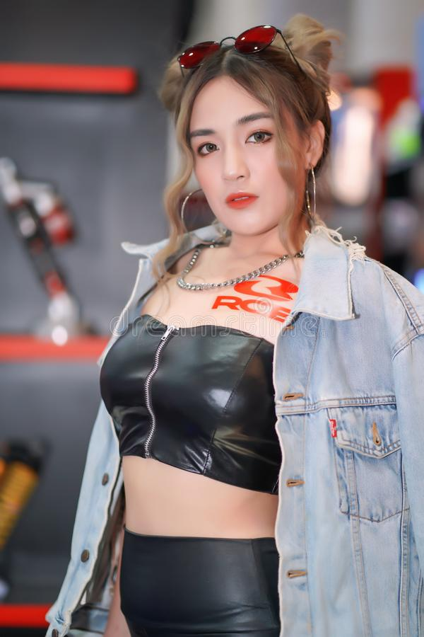 Motor Expo Thailand 2019 royalty free stock photography