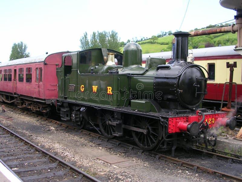 Motor ferroviario foto de archivo