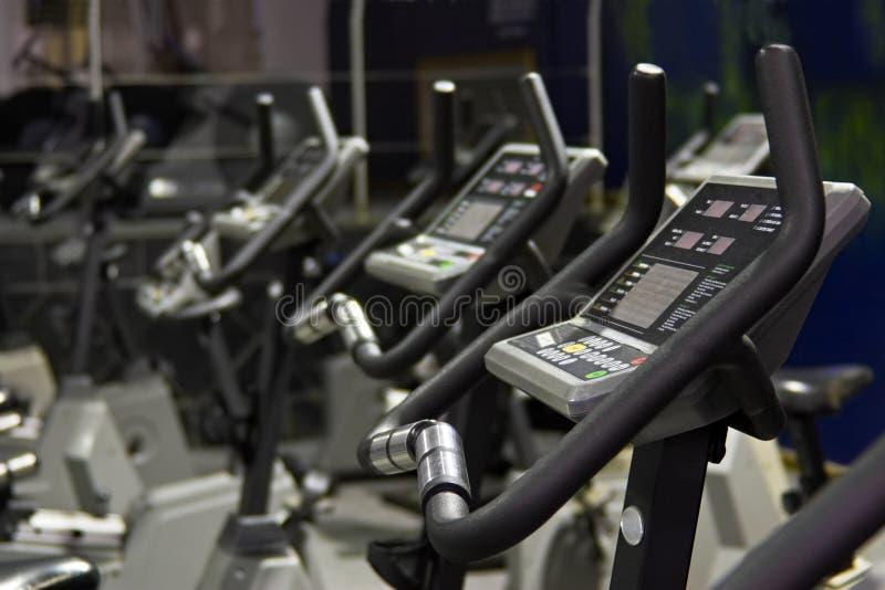 motor fitness kręcenia fizycznej obraz royalty free