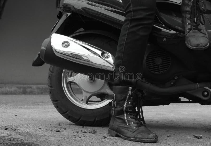 Motor & hjul fotografering för bildbyråer