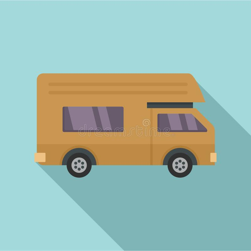 Motor house icon, flat style. Motor house icon. Flat illustration of motor house vector icon for web design royalty free illustration