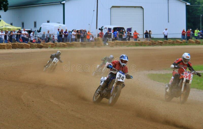 motor lasów motocyklistów wyścig road fotografia royalty free