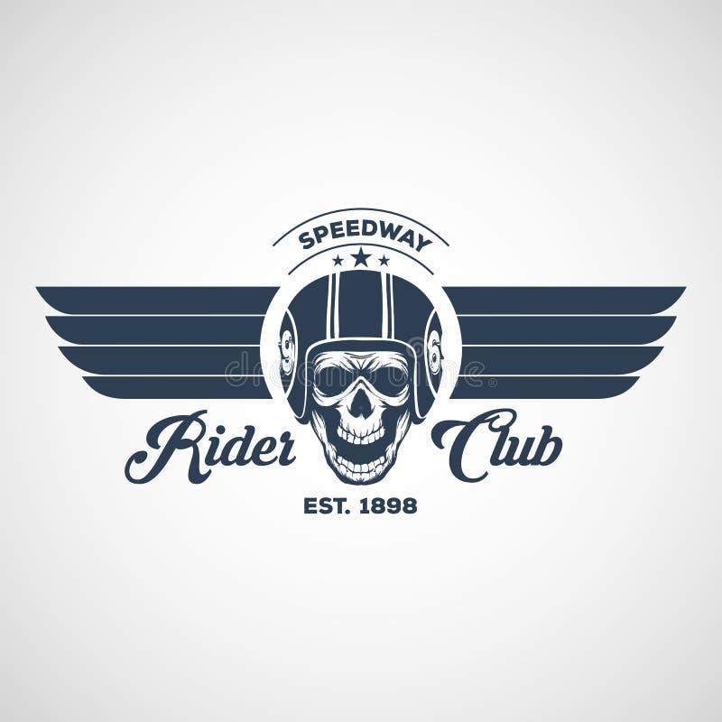 Motor logo graphic design. logo, Sticker, label, arm royalty free stock photography