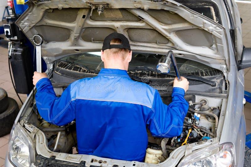 Motor mechanic royalty free stock photos