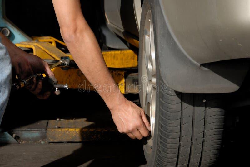 Motor mechanic royalty free stock image