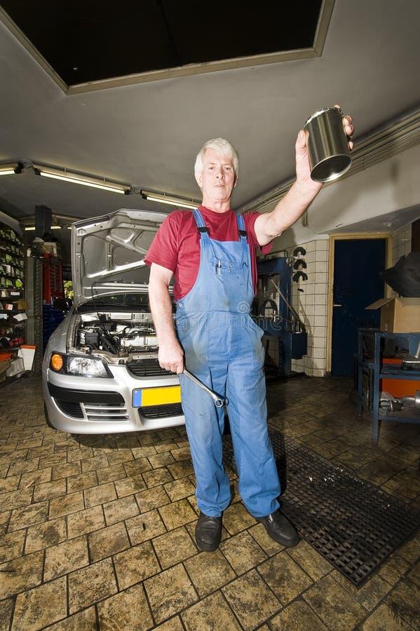 Download Motor Mechanic stock image. Image of cloth, dirty, gray - 6798583