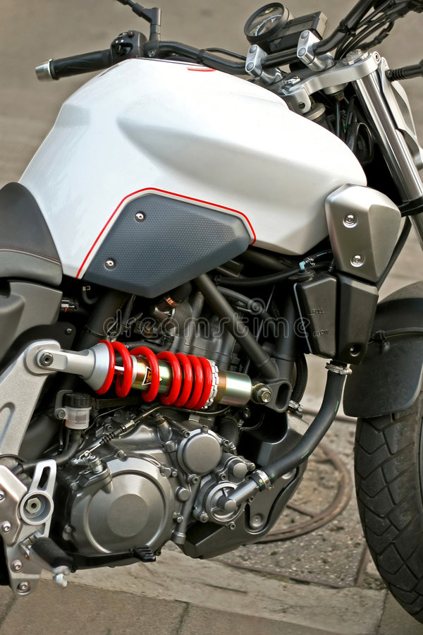 Motor novo fotografia de stock