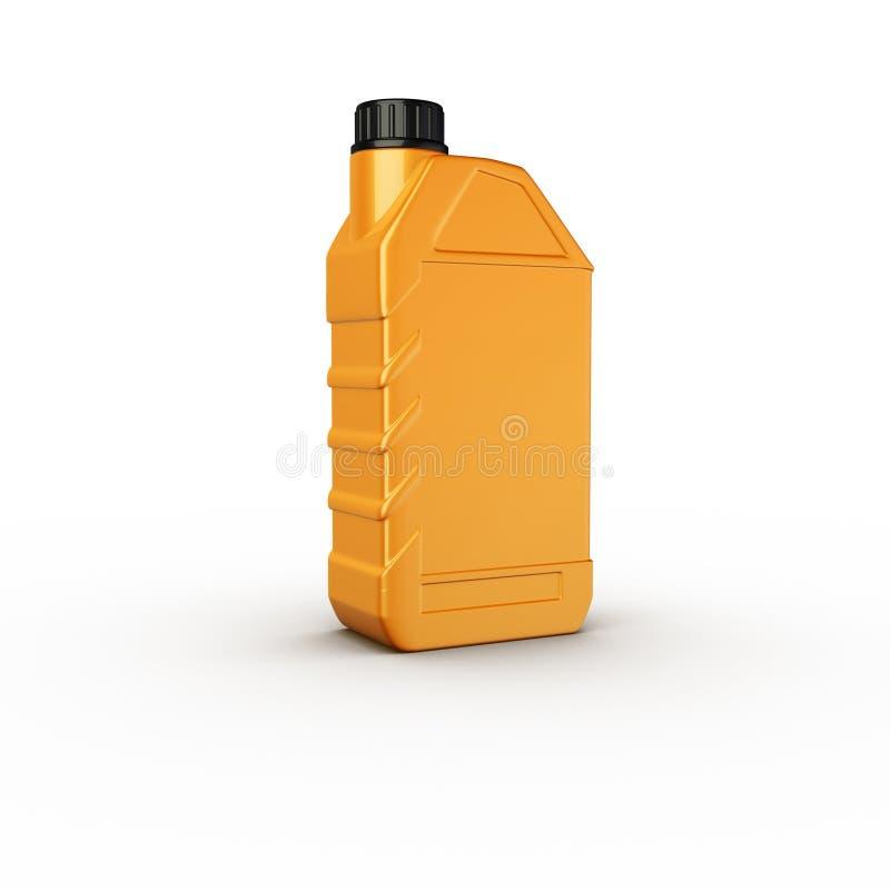 Motor oil bottle vector illustration