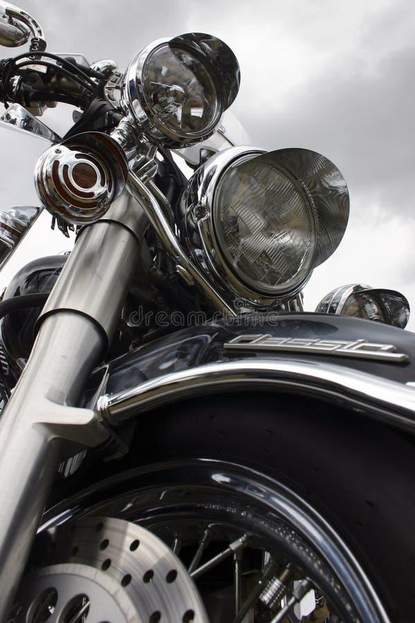 Motor op een achtergrondhemel stock afbeelding