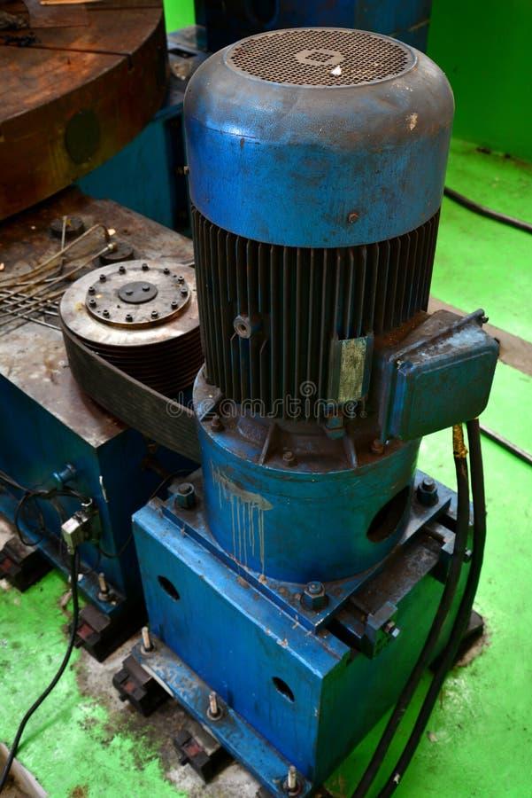 Motor pump Hydraulic royalty free stock image