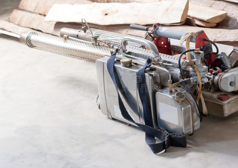 Motor que enevoa o mosquito para impedir fotografia de stock royalty free