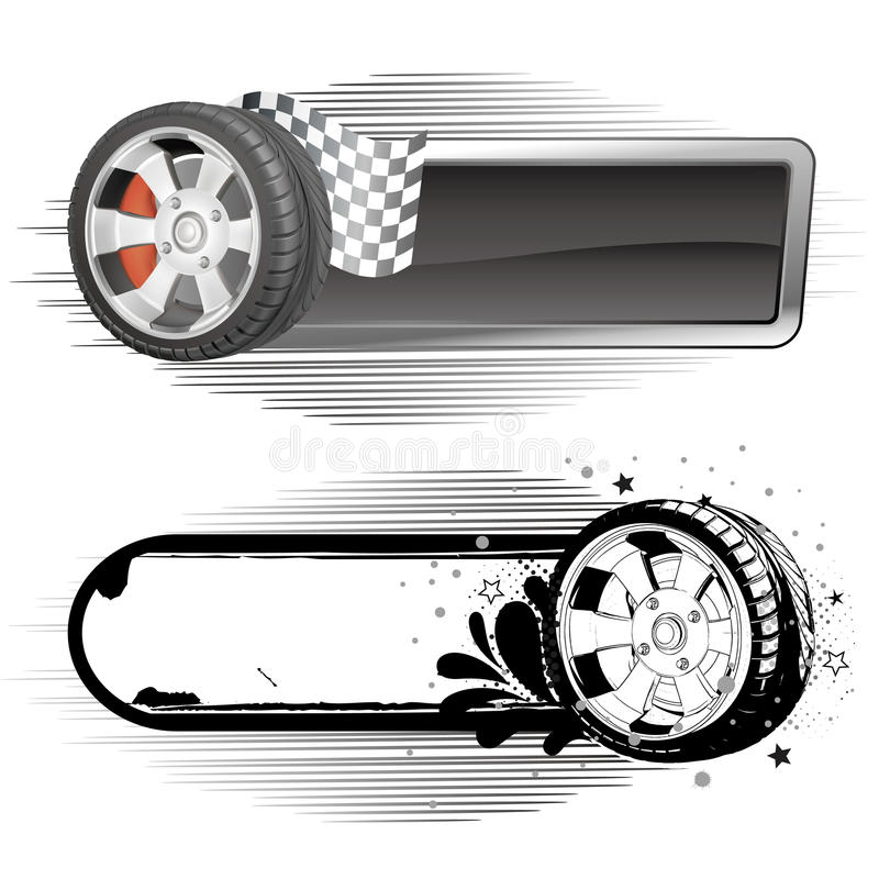 Download Motor racing element stock vector. Illustration of element - 18567558