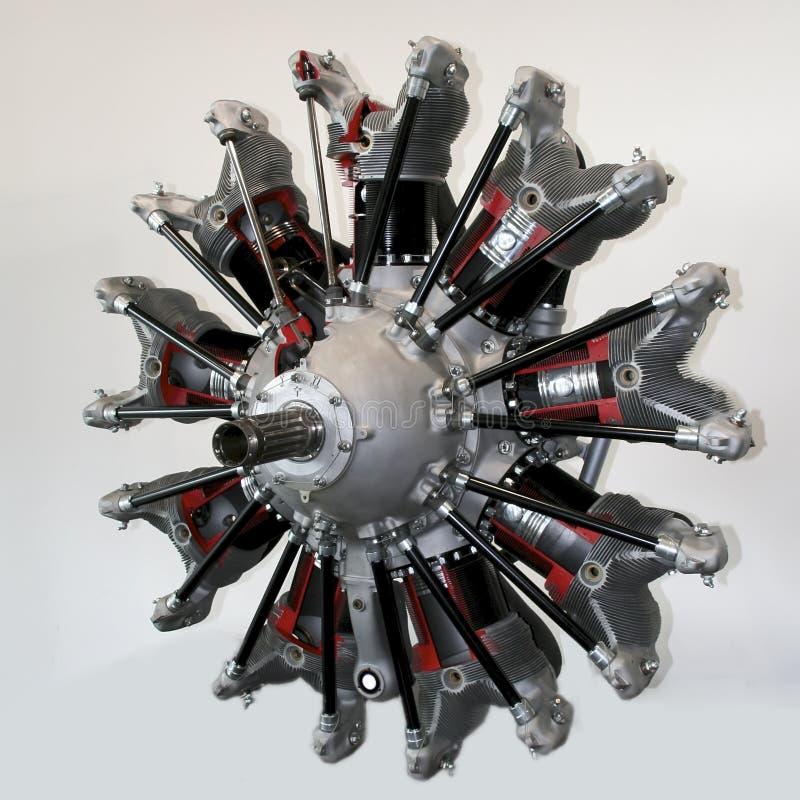 Motor radial foto de stock
