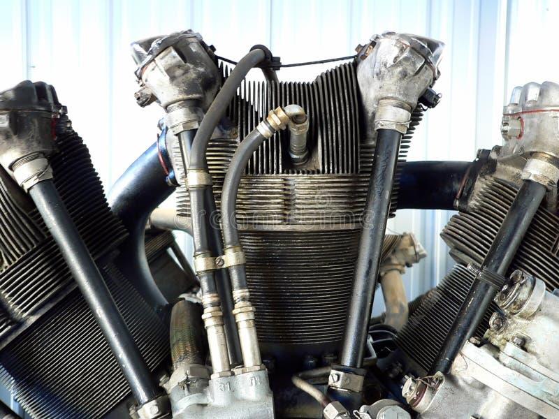 Motor radial foto de archivo