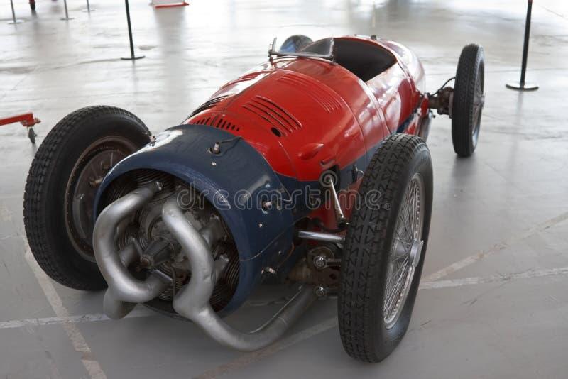 Motor radial del coche de competición foto de archivo libre de regalías