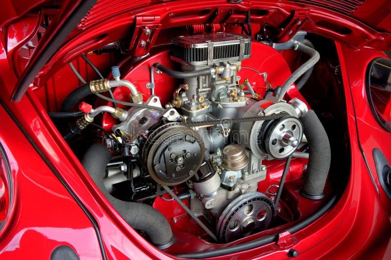 Motor refrigerado a ar da VW imagens de stock