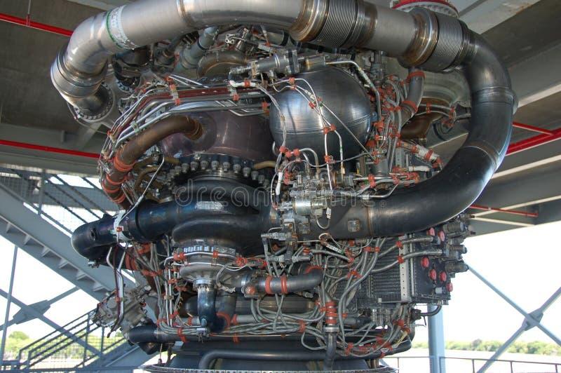 motor saturn v royaltyfri foto