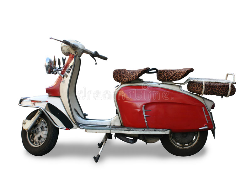 Motor Scooter royalty free stock photography