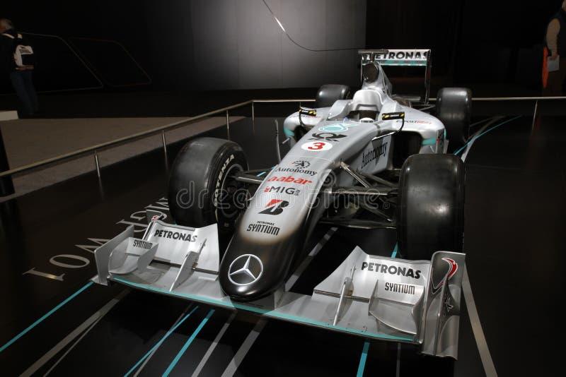 Mercedes Mclaren F1 racing car royalty free stock photo