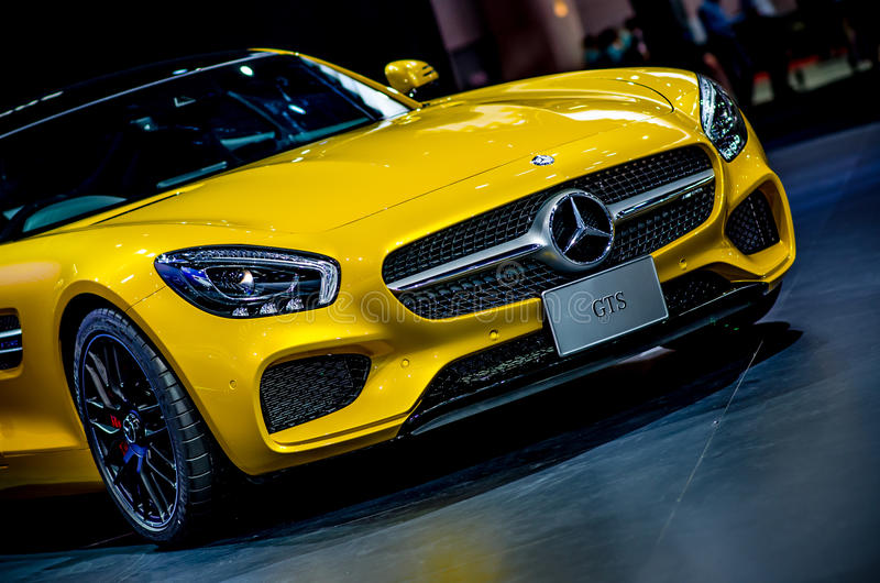 MOTOR SHOW 2015 IN THAILAND royalty free stock images