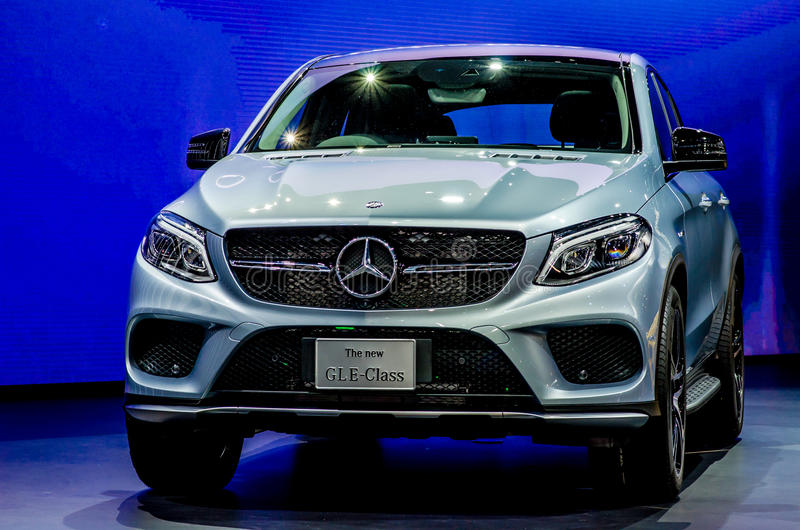 MOTOR SHOW 2015 IN THAILAND royalty free stock photo