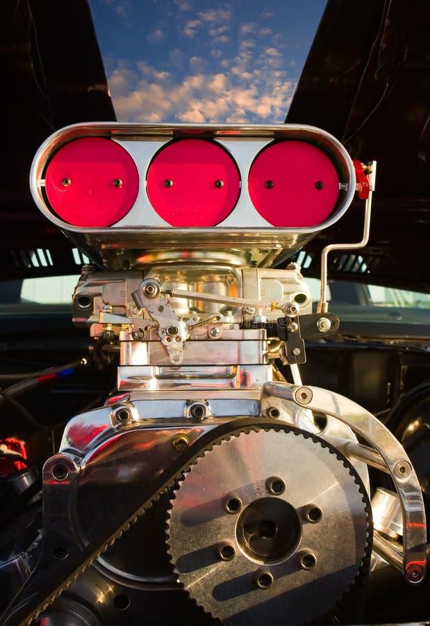 Motor sobrealimentado imagenes de archivo