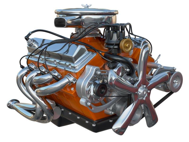 Motor van een auto