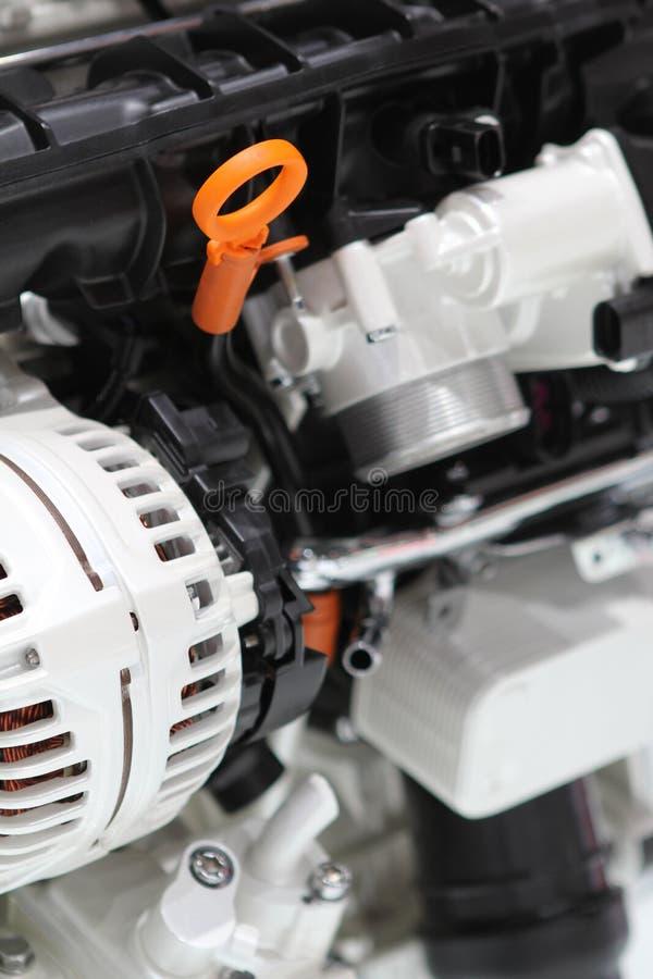 Motor van een auto royalty-vrije stock fotografie