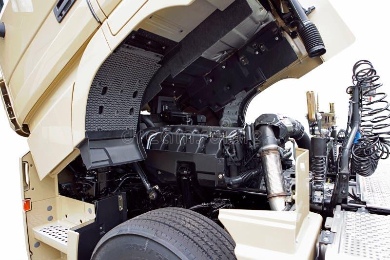 De motor van de vrachtwagen royalty-vrije stock foto's