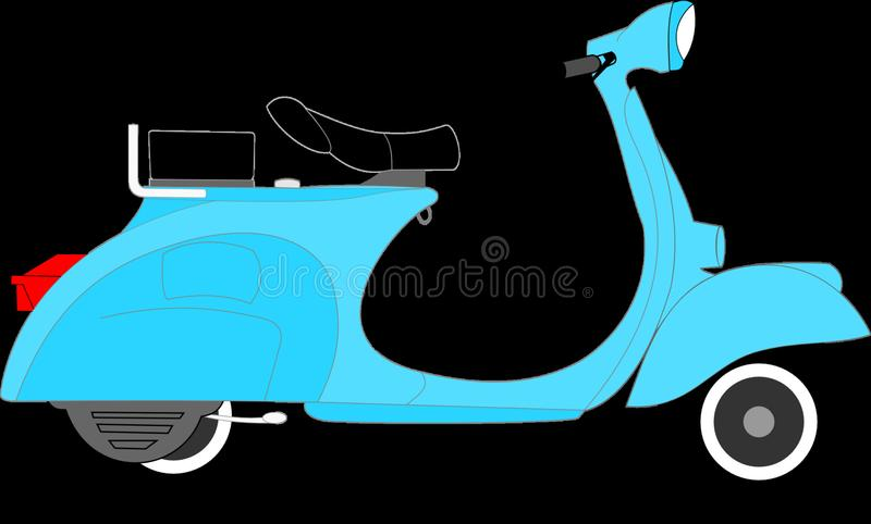 Motor Vehicle, Scooter, Mode Of Transport, Vespa royalty free stock photos
