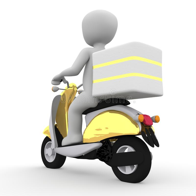 Motor Vehicle, Yellow, Scooter, Vehicle royalty free stock images